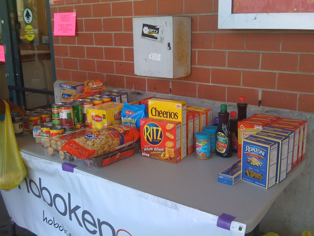 Our partners in the community help collect donations each month to keep the food pantry open.